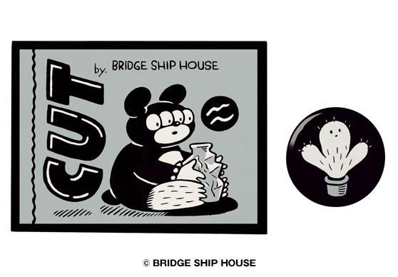 BRIDGE SHIP HOUSE 作・画によるTEHON「CUT」完成!